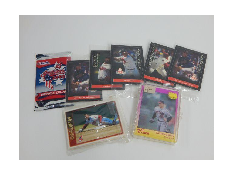 Cleveland Indians Player Cards