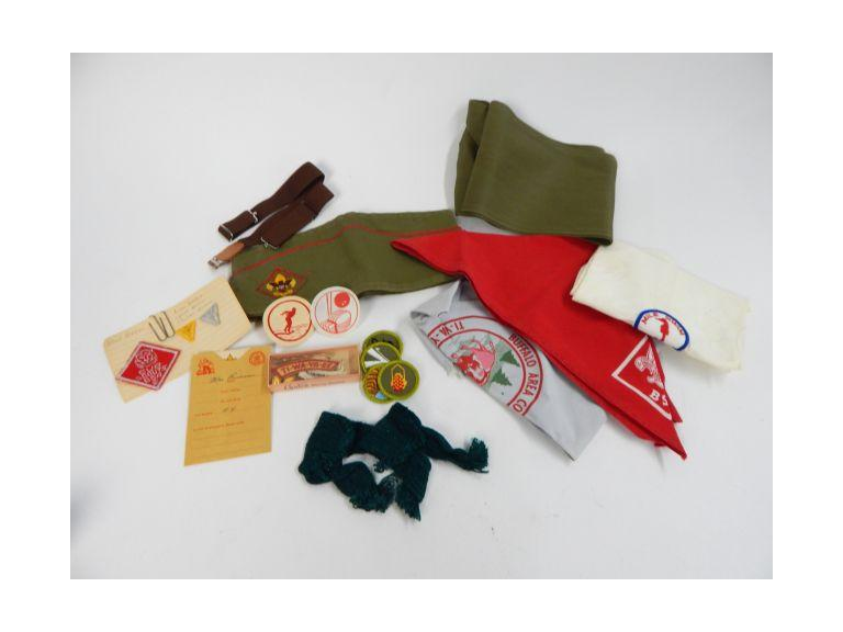 Collection of Boy Scout Memorabilia