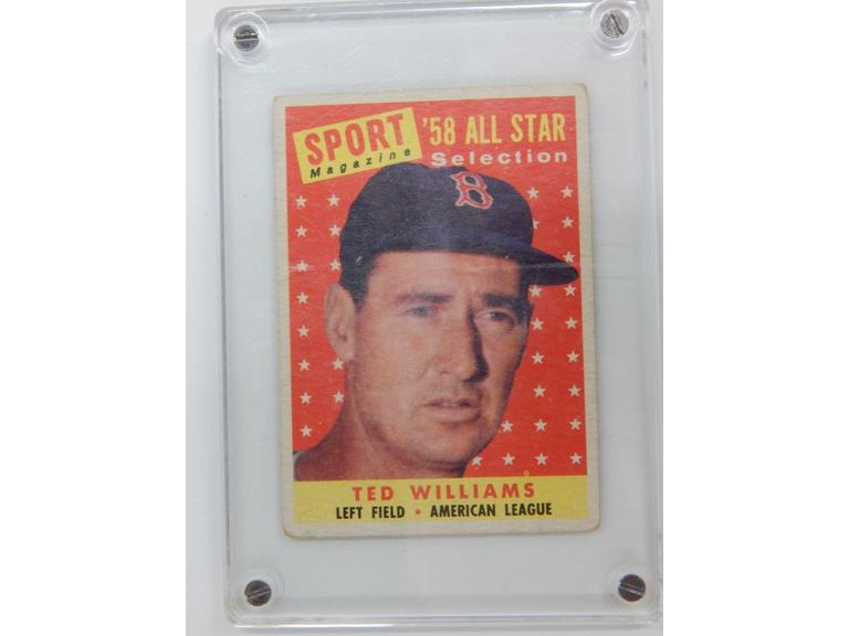 1959 Topps Ted Williams Card