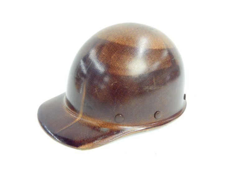 Old Miners MSA Safety Hat