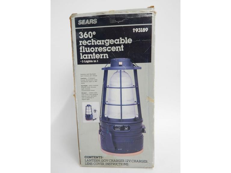 Rechargeable Fluorescent Lantern