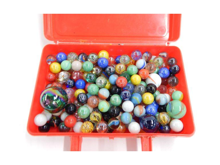 Collection of Glass Marbles