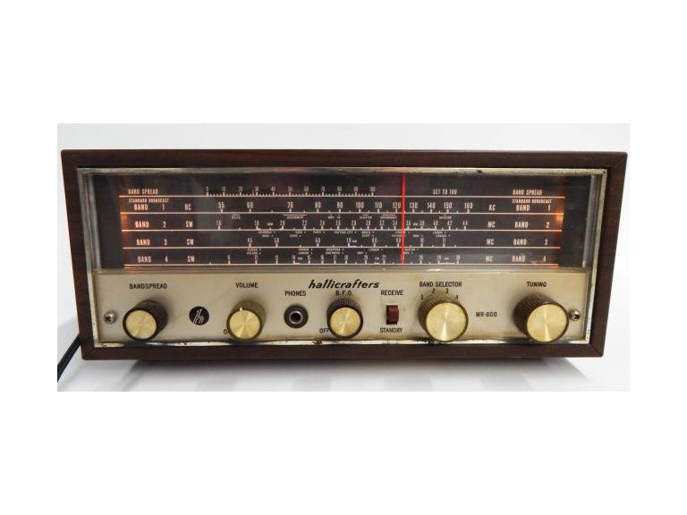 Hallicrafters 4 Band Receiver