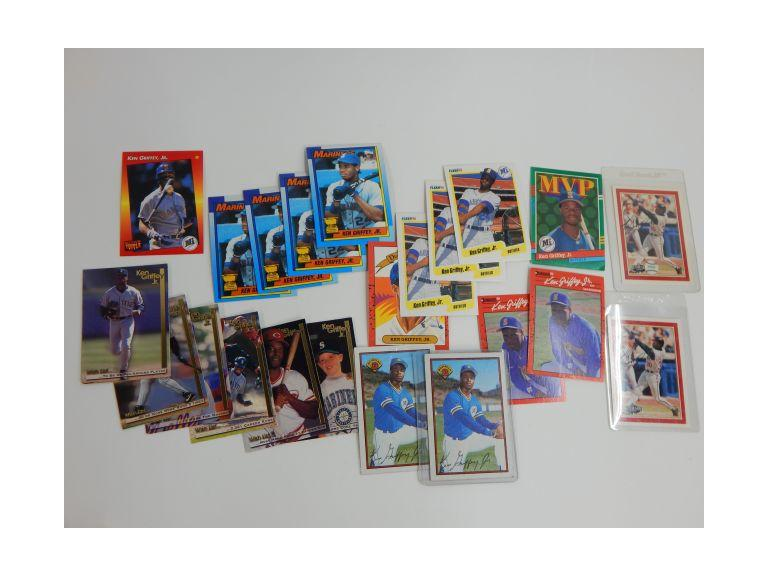 Ken Griffey Jr. Cards with Rookies