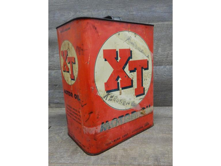 Vintage XT Motor Oil Can