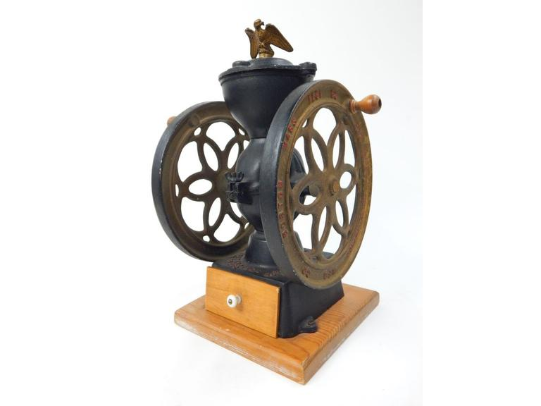 Reproduction Hand Crank Coffee Grinder