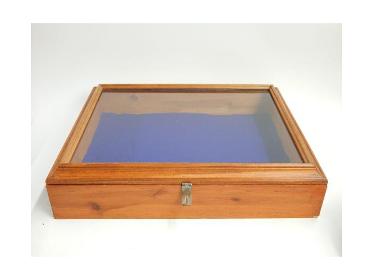 Wooden with Glass Top Display Case
