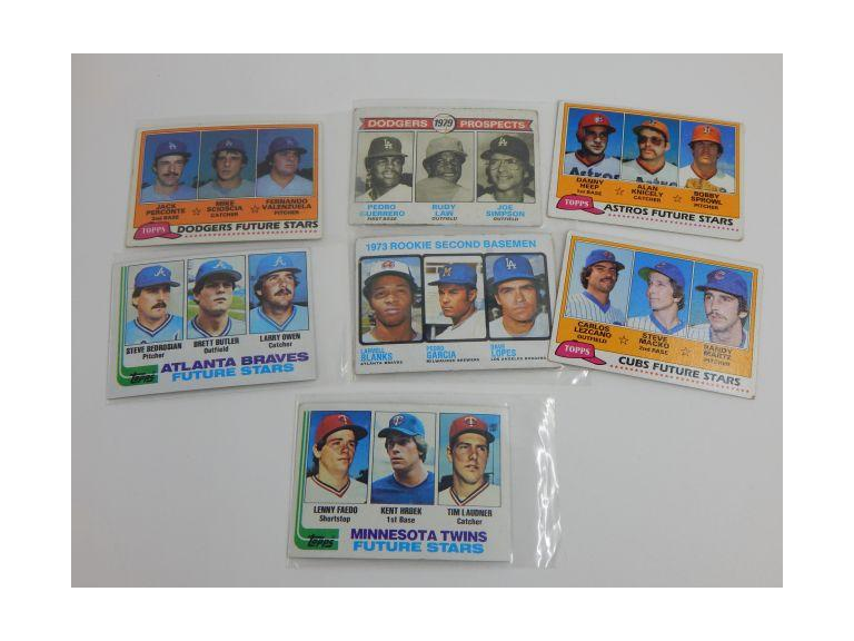 1979 - 1982 Topps Rookie Cards