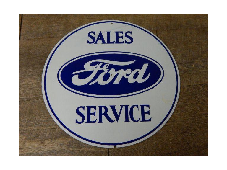 Ford Sales & Service Sign